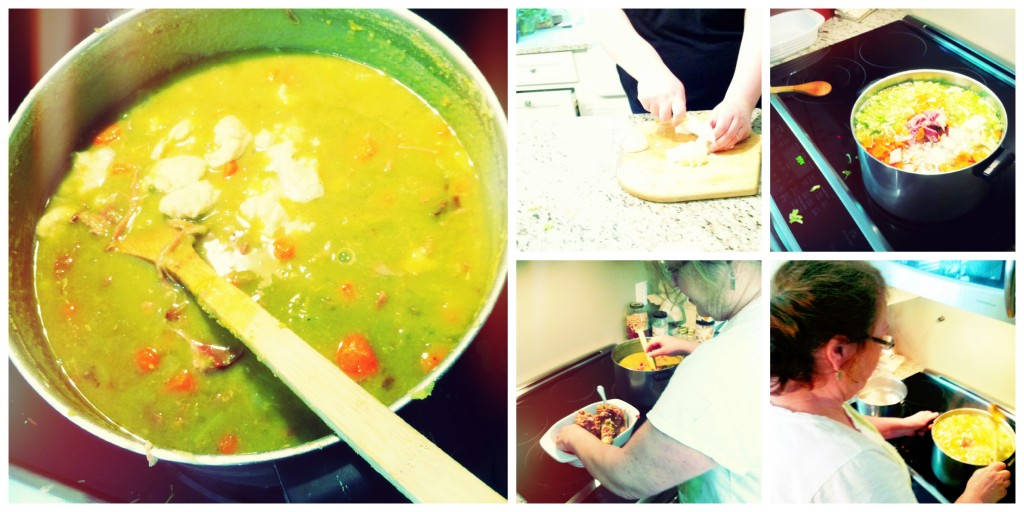Split Pea Collage II