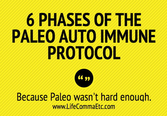 6 Phases of the Paleo Autoimmune Protocol