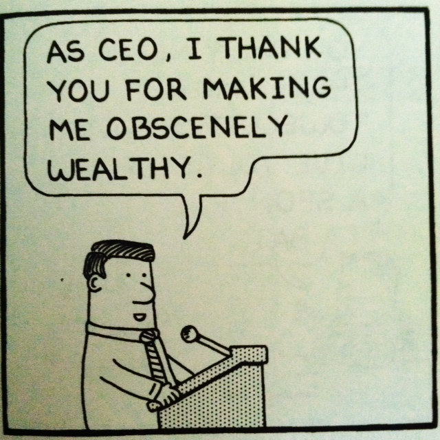 Dilbert CEO Incredibly Rich