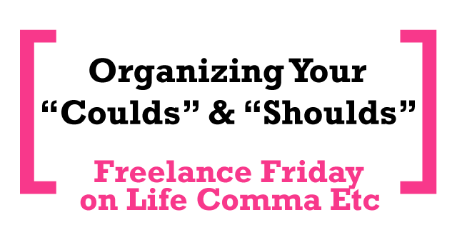 FreelanceFriday_CouldShould