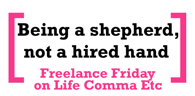 shepherd not a hired hand bible verse