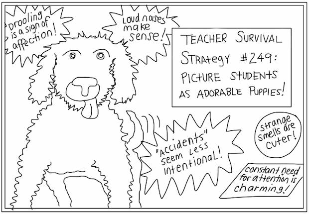 ComicSands_StudentsPuppies