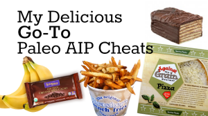 My Paleo AIP Cheats: Grain-Free Pizza, Special Cake, and Fries