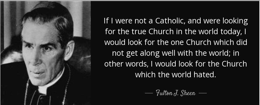 Fulton Sheen If I Were Not a Catholic