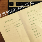 Risk is scary and real + Small business freelance